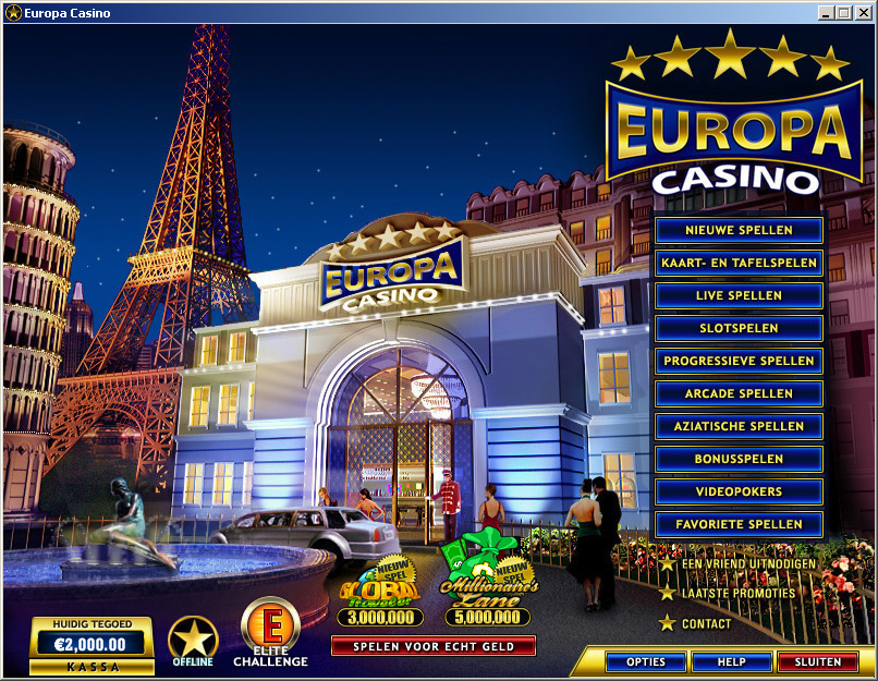casino online de europe entertainment ltd